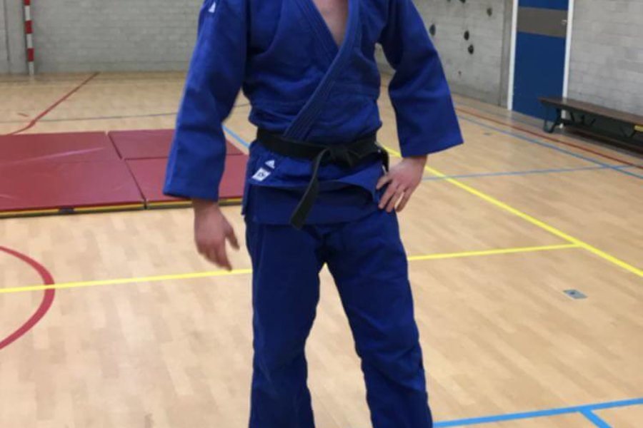 Judo workshop in jeugdinrichting Amsterdam
